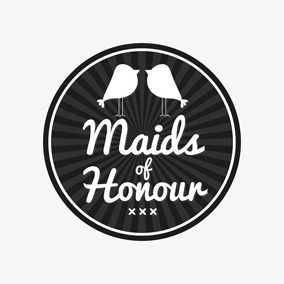 Maids of Honour Logo and Identity